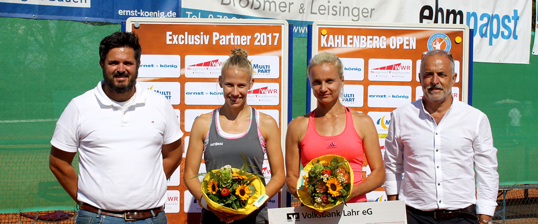 Angelika Roesch siegt beim deutschen Tennis-Ranglistenturnier Kahlenberg Open 2017